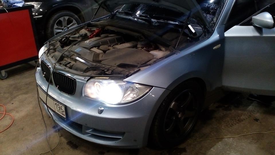 BMW 125i, чип тюнинг