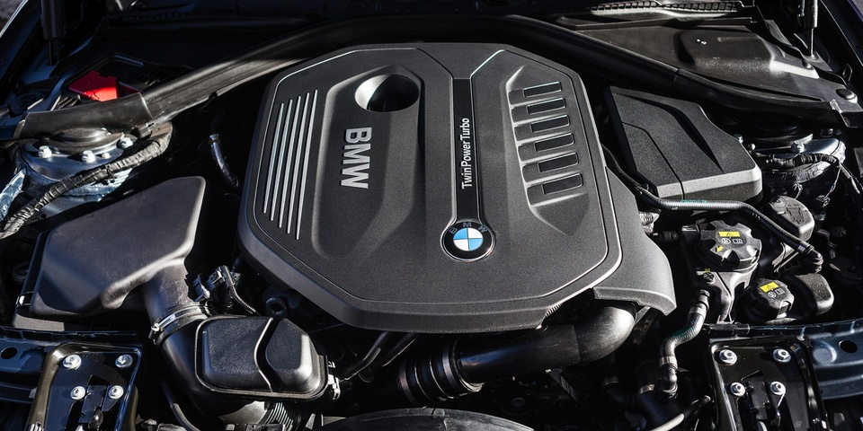 двигатель B58, BMW 340i, ремонт бензиновых двигателей