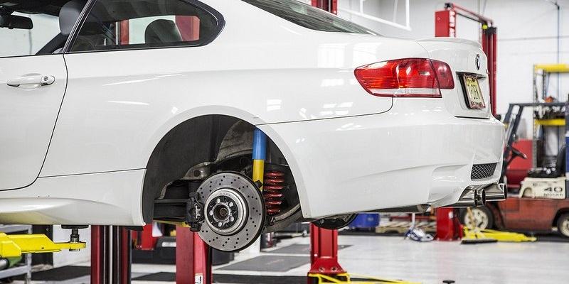ремонт подвески BMW в автосервисе