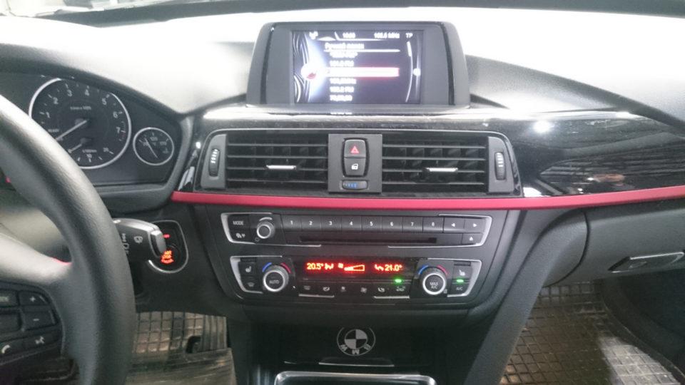 установка NBT, BMW F34