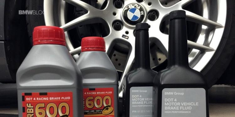 Замена тормозной жидкости в BMW