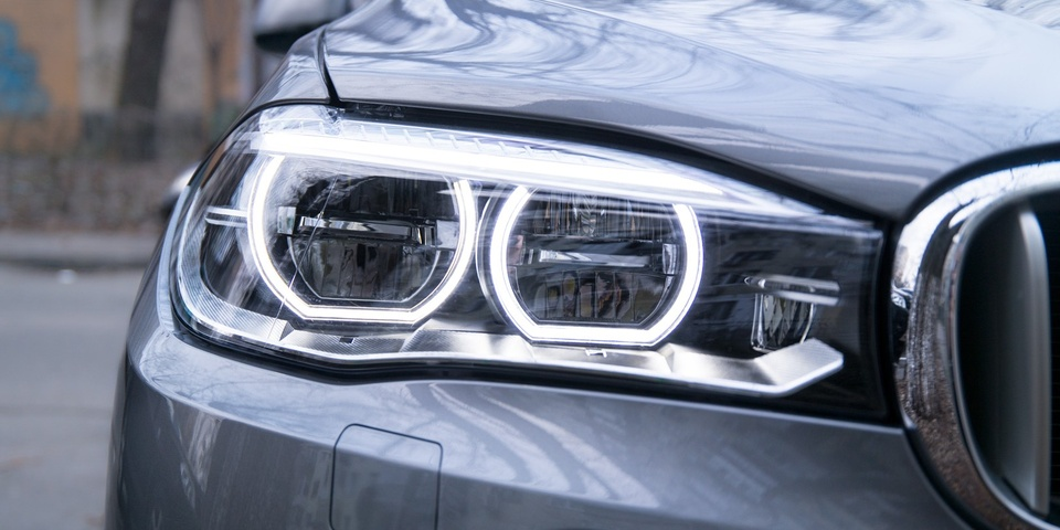 LED фары BMW