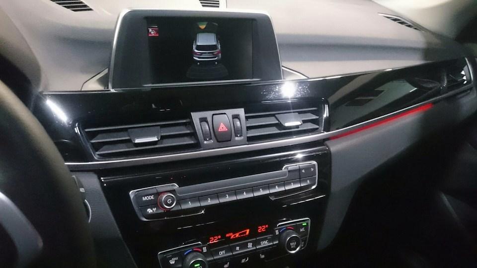 камера заднего вида на BMW