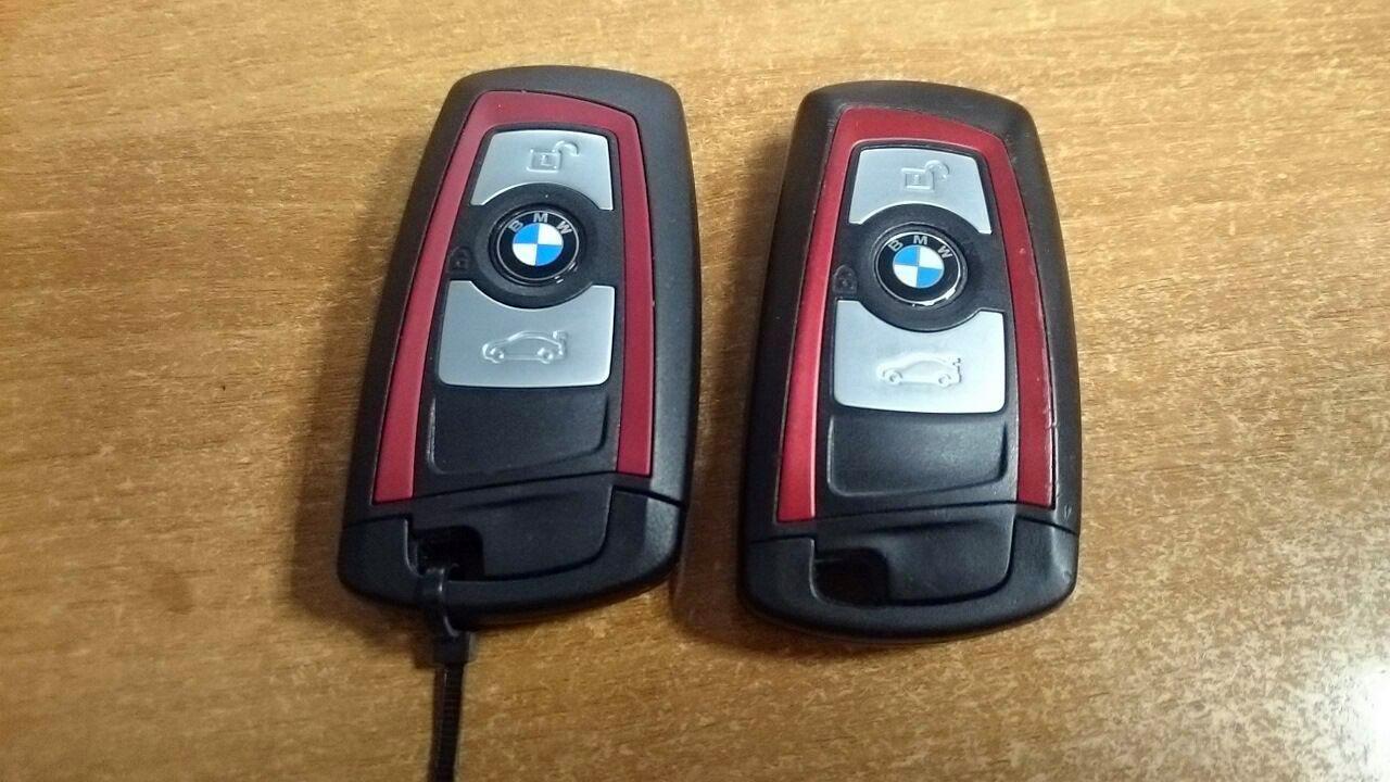 чип ключ BMW, дубликат и оригинал