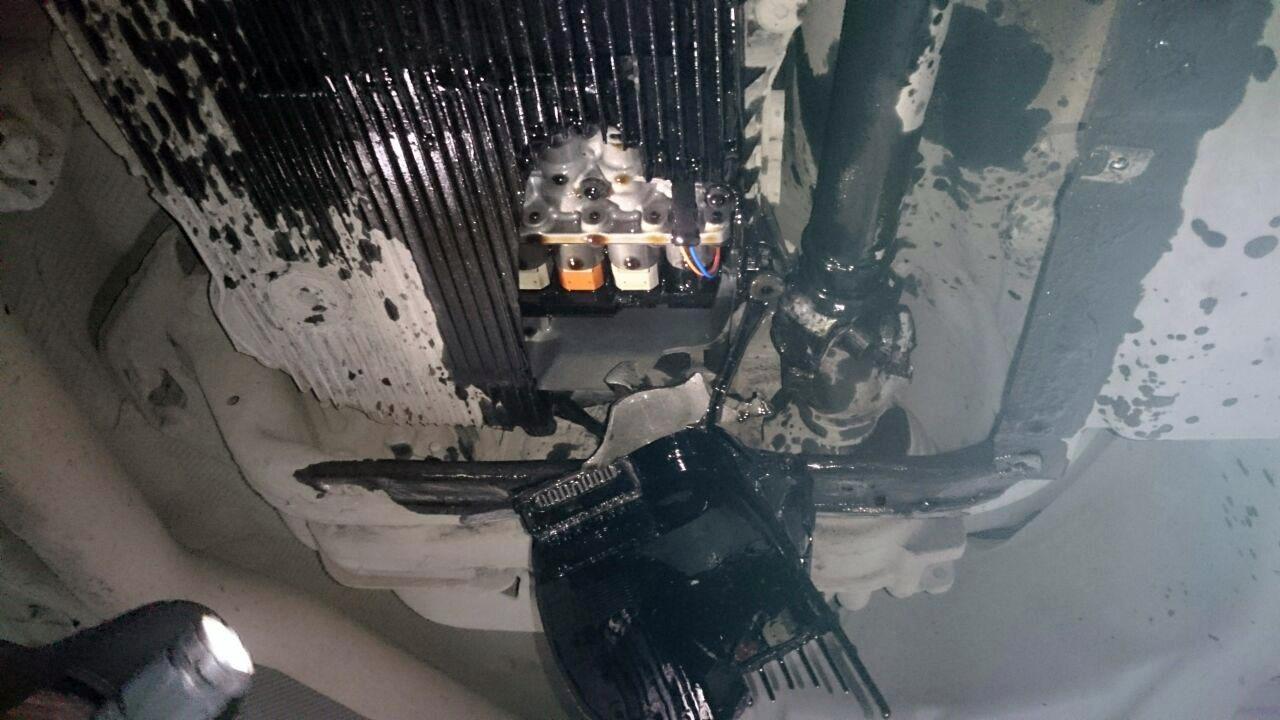 BMX X6, поврежденная коробка передач