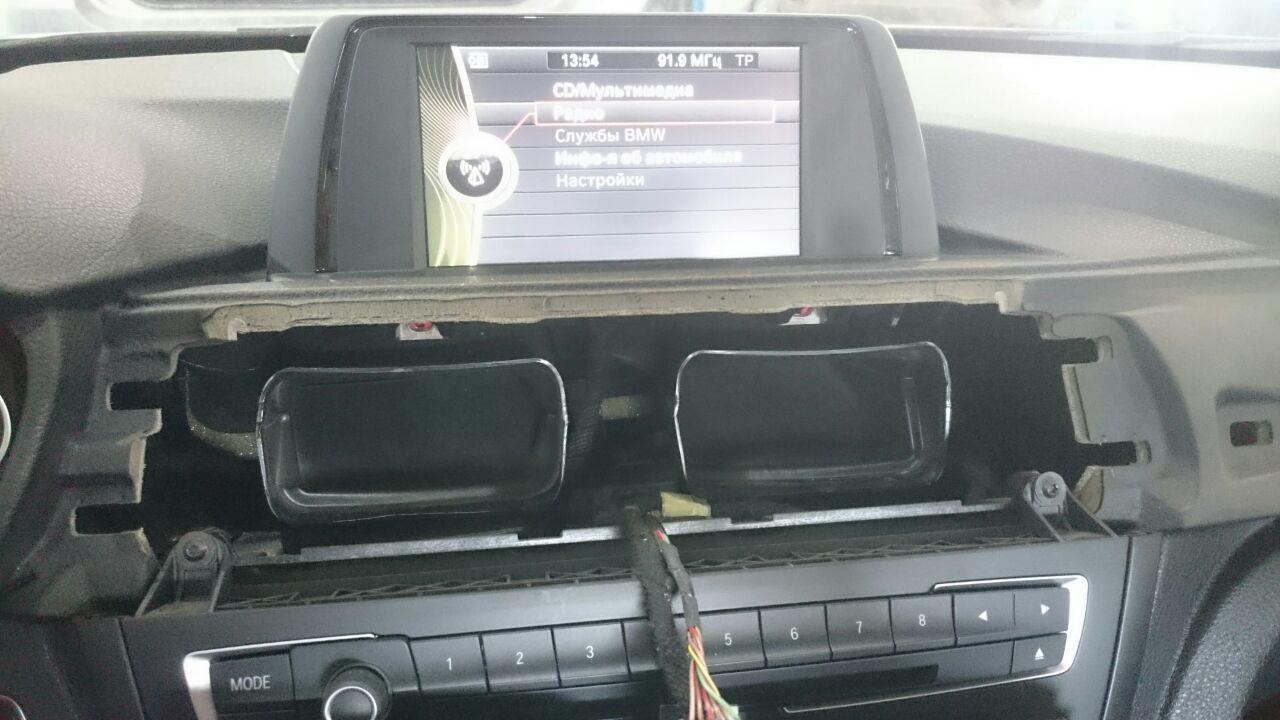 новый экран HU ENTRY, BMW F30