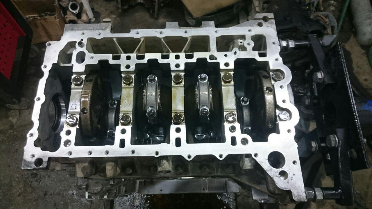 капремонт двигателя N20, BMW F30