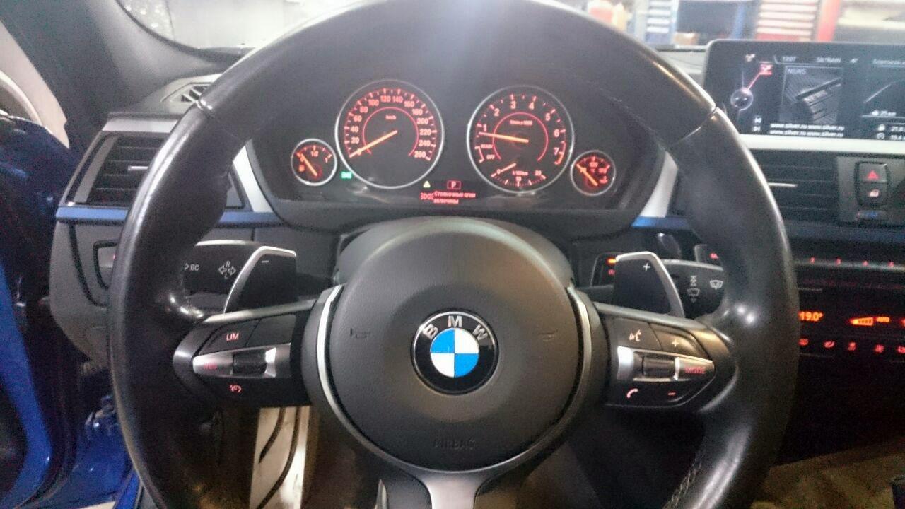 аналоговая приборная панель BMW F30