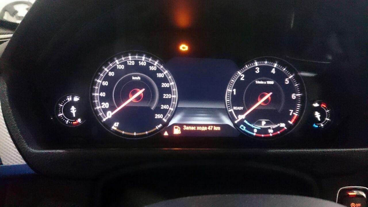 LED приборная панель, BMW F30