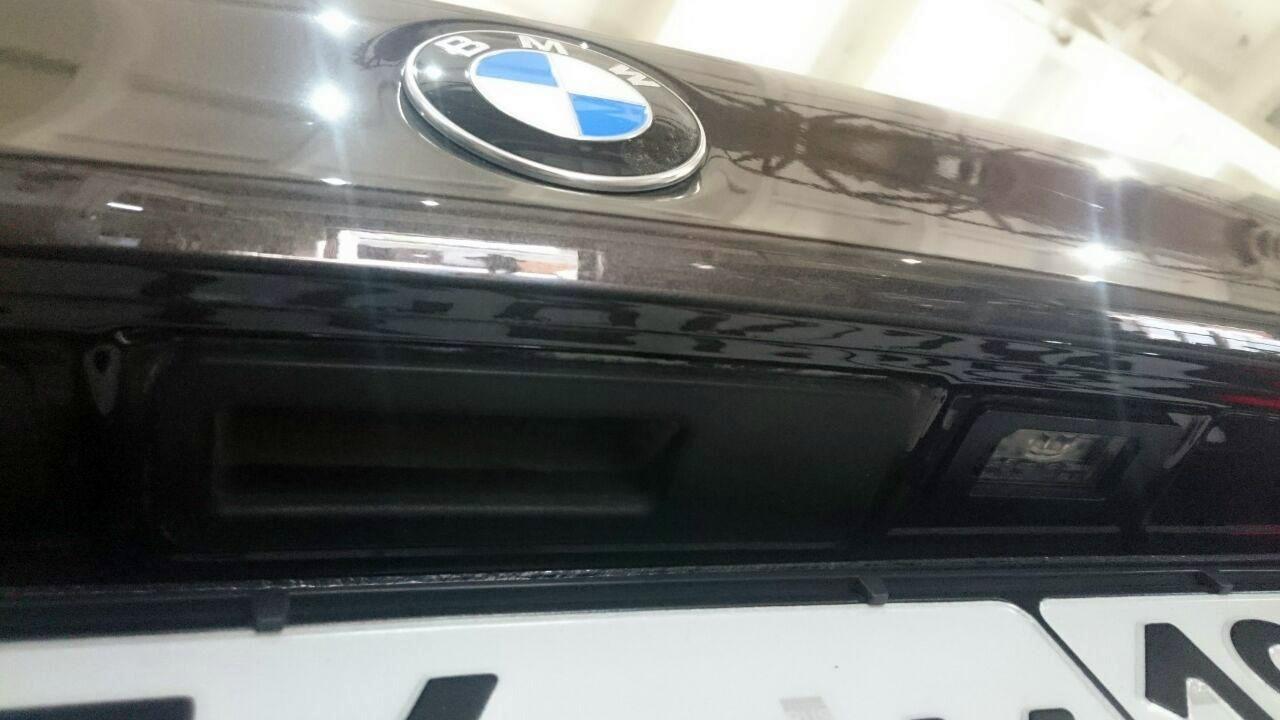 задний бампер BMW G30