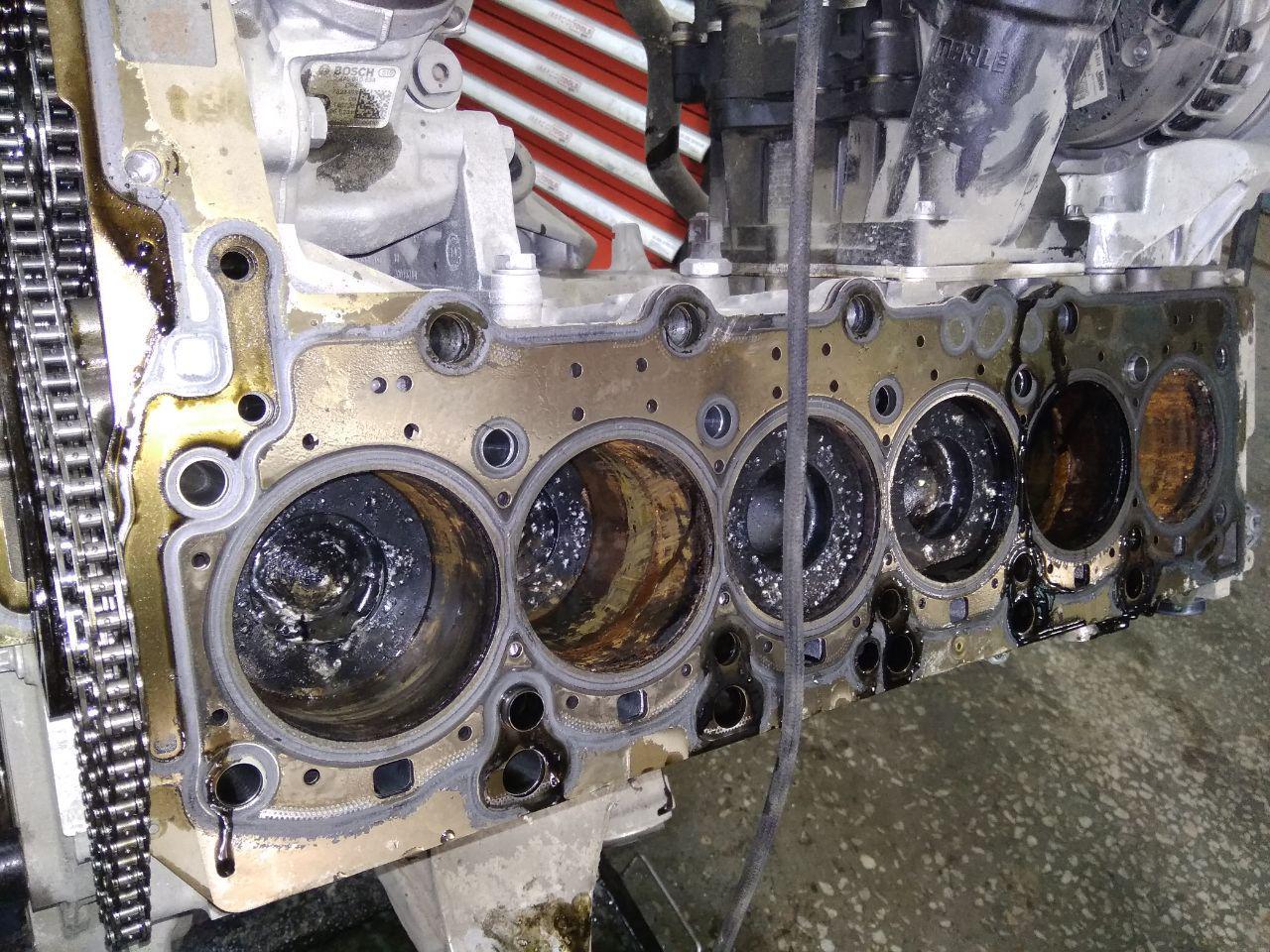 двигатель получил гидроудар