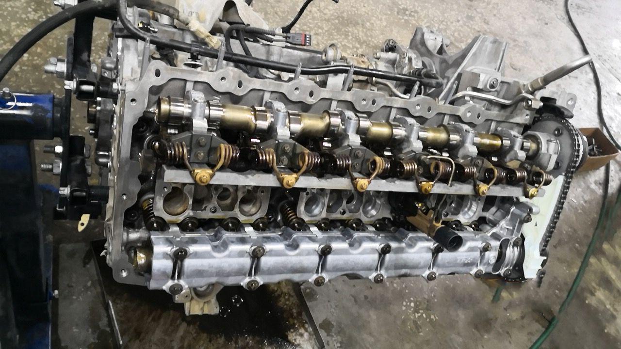 Сборка двигателя N55B30