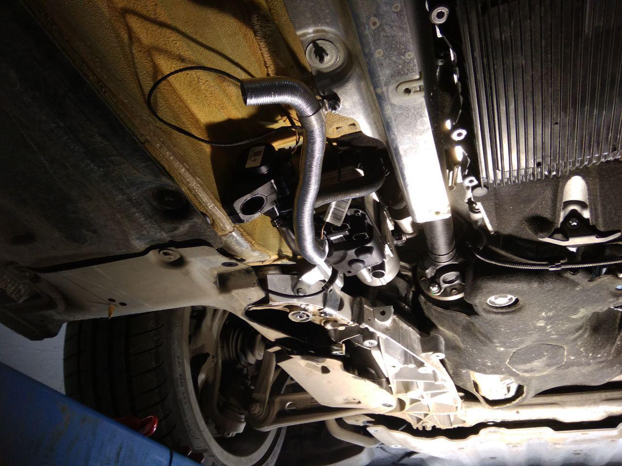 подогреватель Вебасто под днищем BMW G30