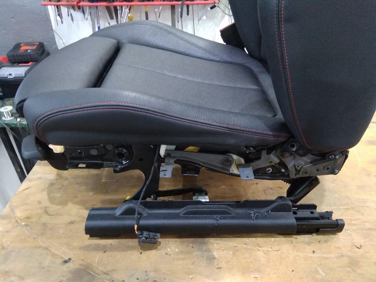 установка поясничной опоры в водительское сиденье BMW F30
