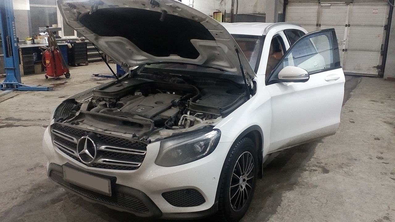 Mercedes Benz GLC 250, Чип тюнинг