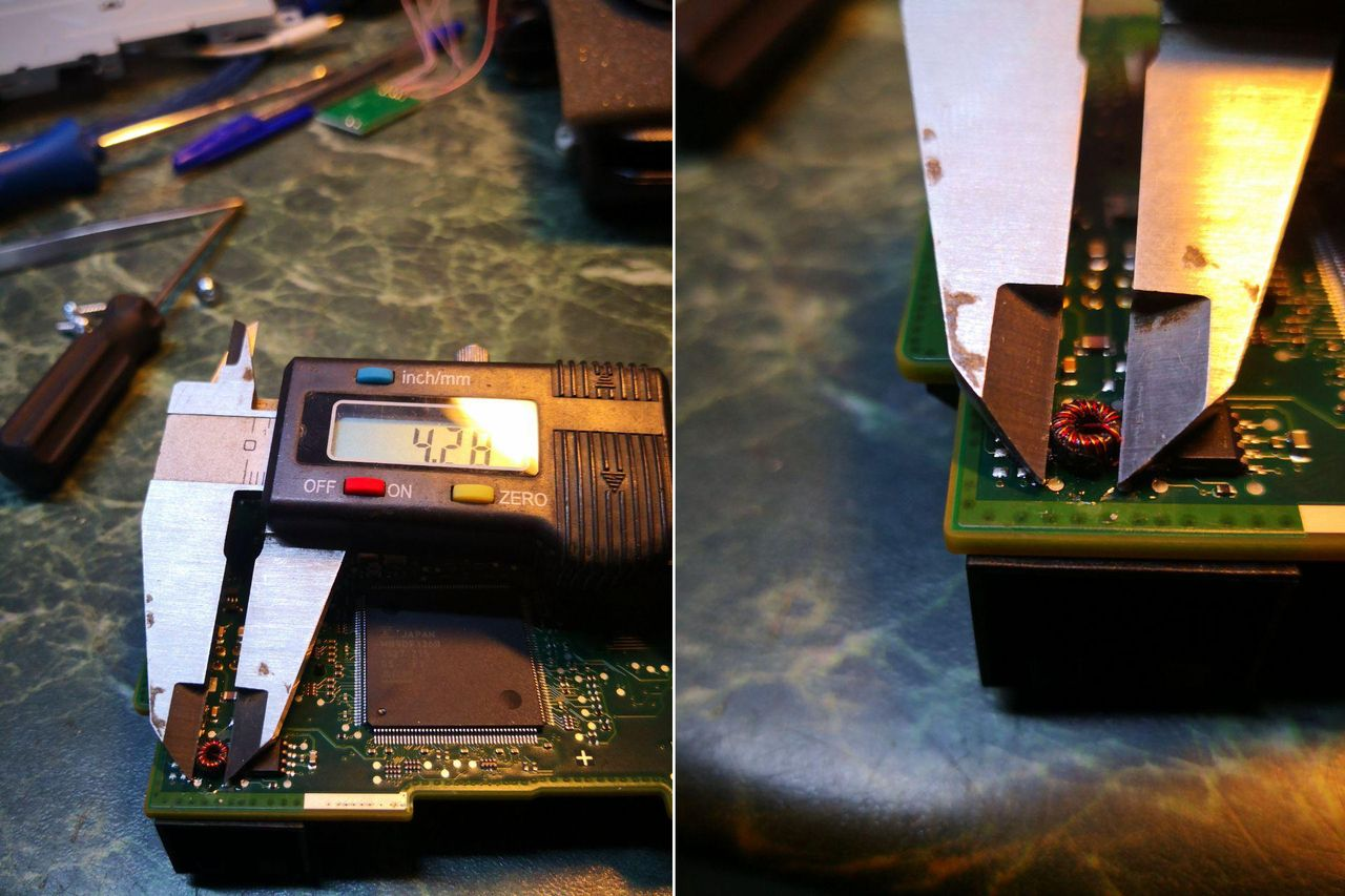 микротрансформатор с диаметром тора 4 мм