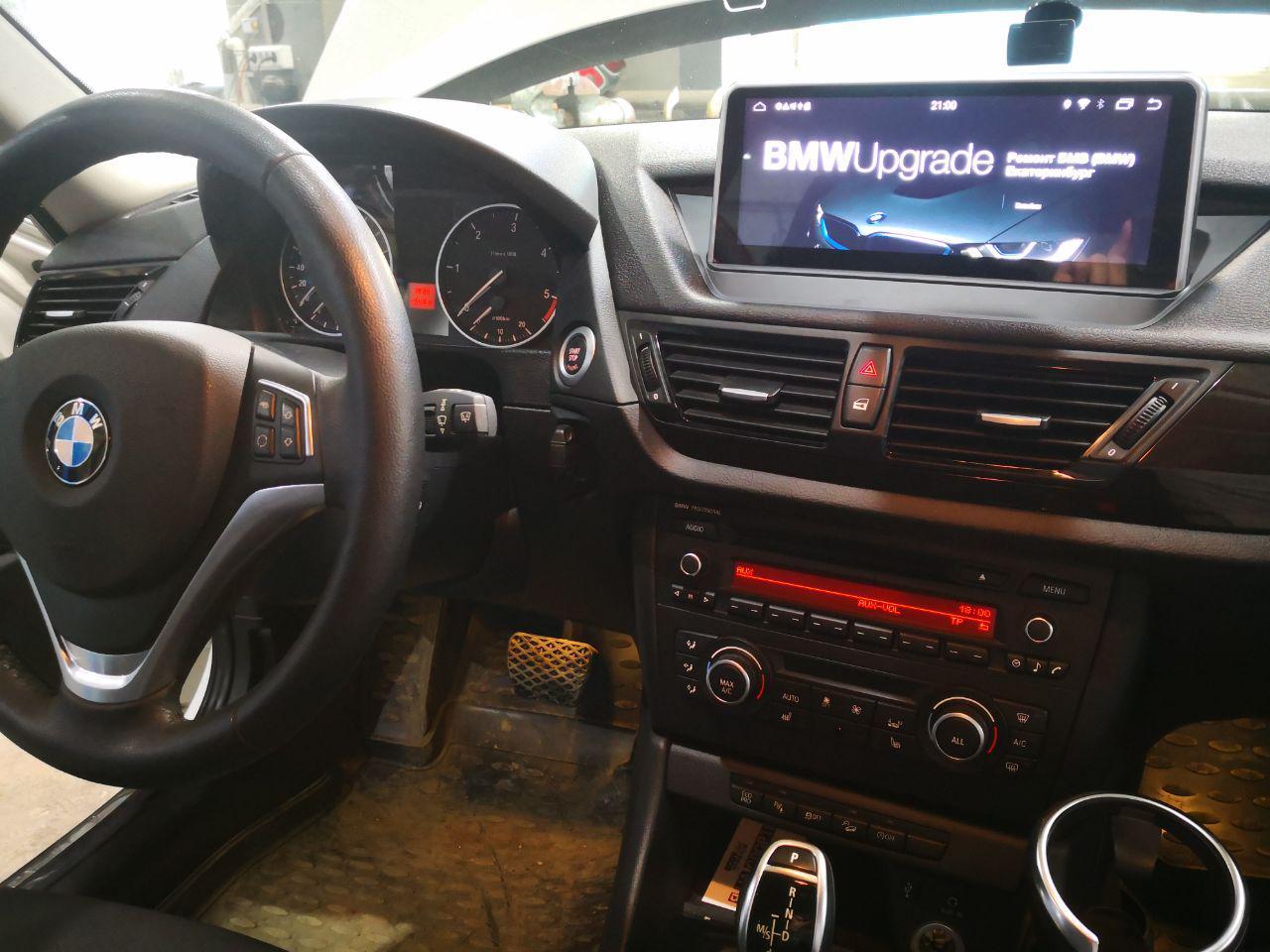 Альтернативное NBT Evo головное устройство, BMW X1 E84