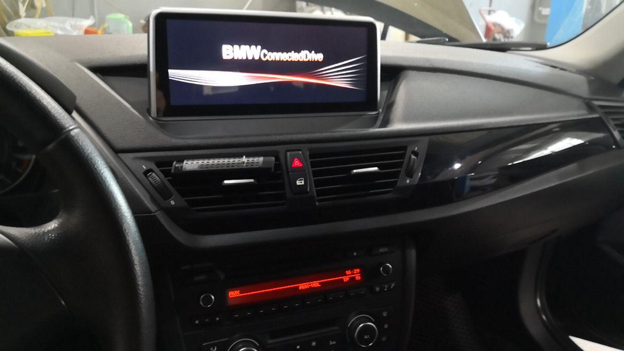 BMW Х1, головное устройство