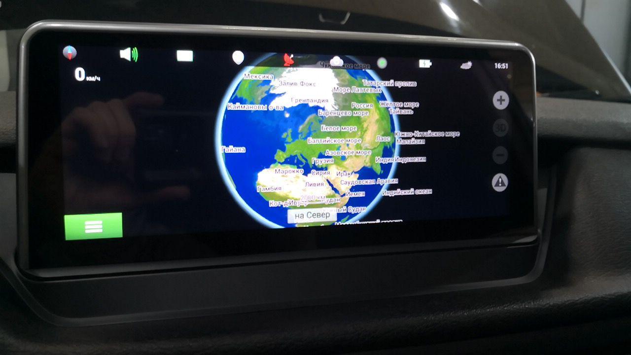 BMW Х1 E84, android