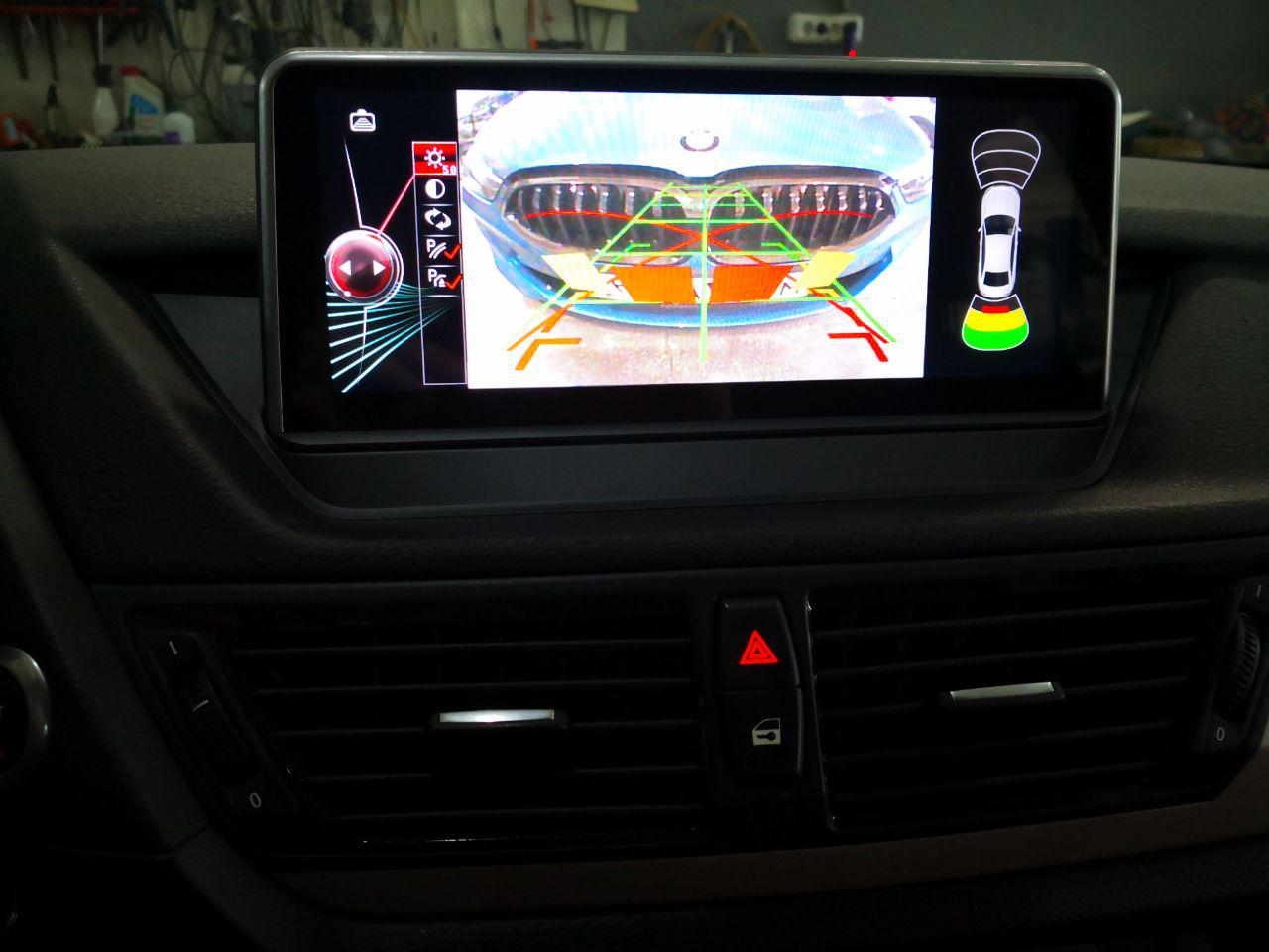 Нештатное головное устройство на базе Android, bmw x1 e84