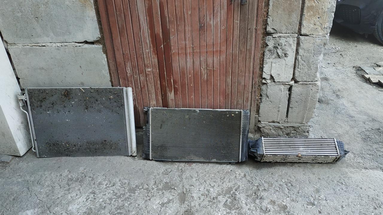 радиатор кондиционера, радиатор автомобиля, интеркулер