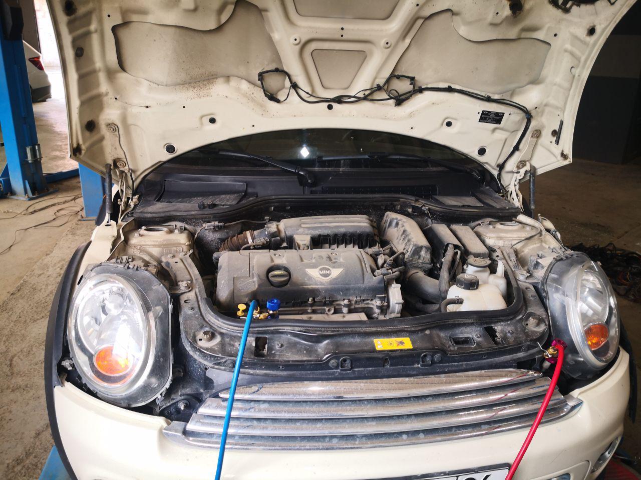 Заправка кондиционера MINI, сервис BMW Upgrade