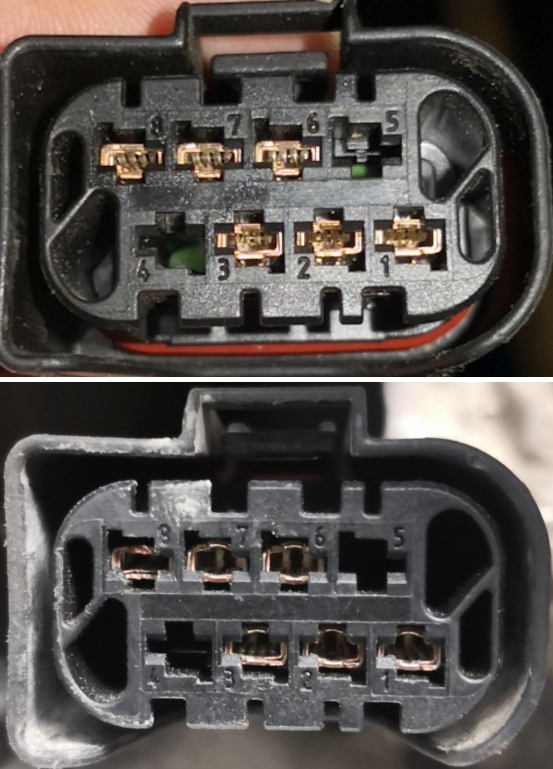 Разъем раздаточной коробки передач E84 X1, разъем раздатки