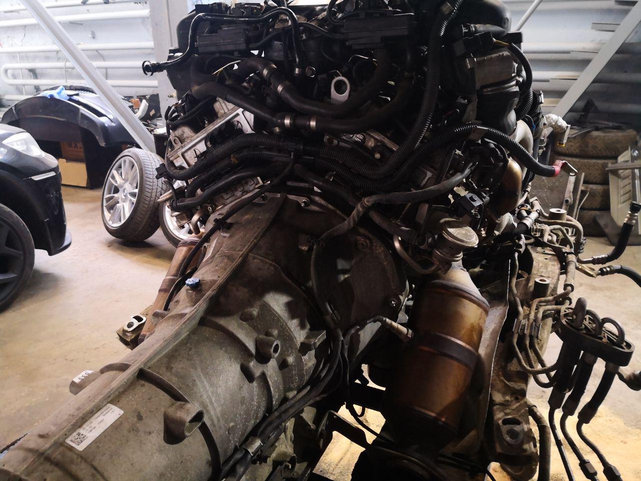 мотор V12, bmw f02 760i