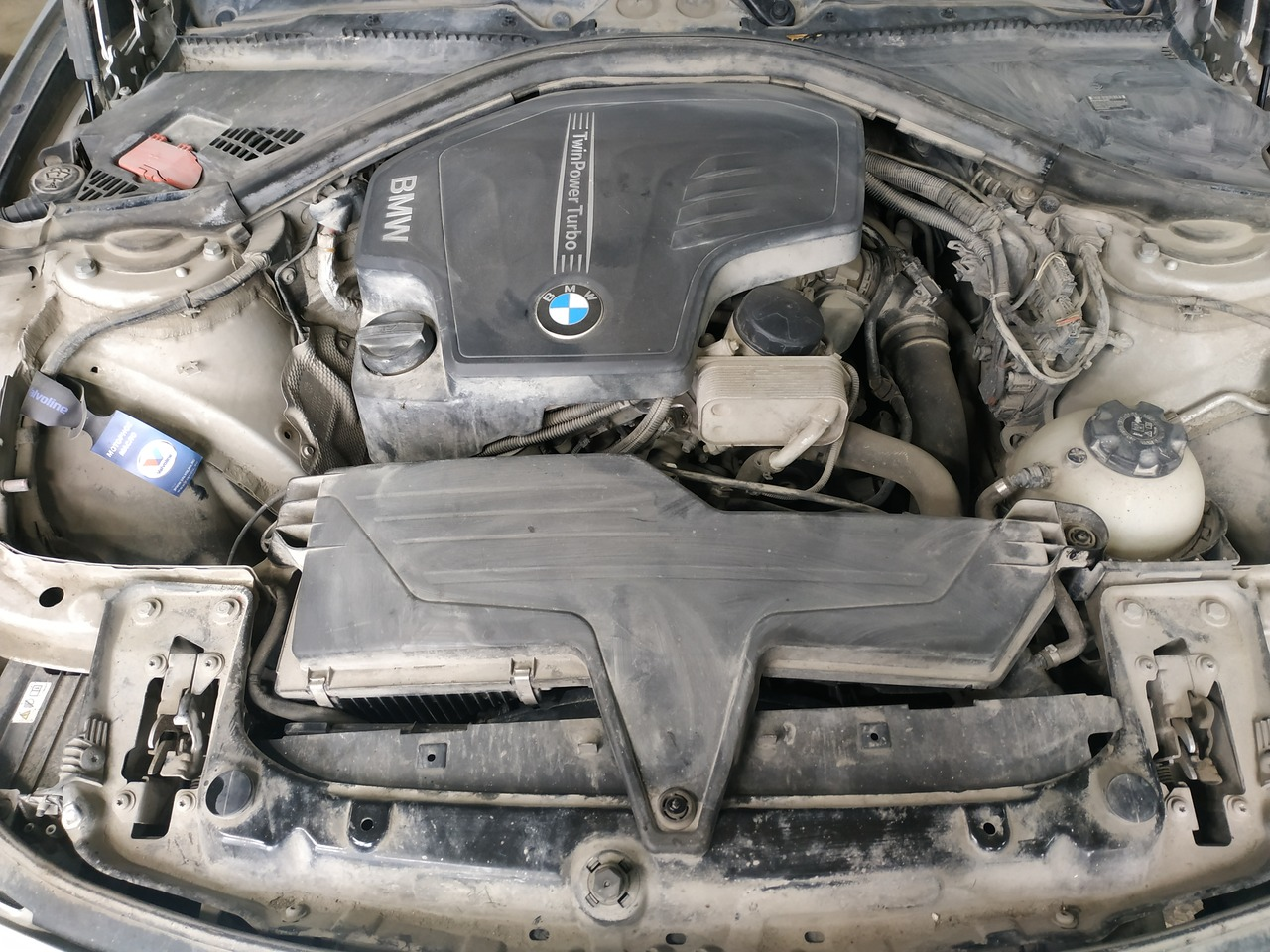 двигатель N20, BMW F30 2011 г.в.