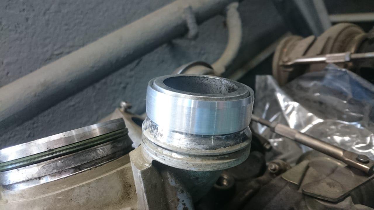 переходное кольцо на турбину BMW G30 550