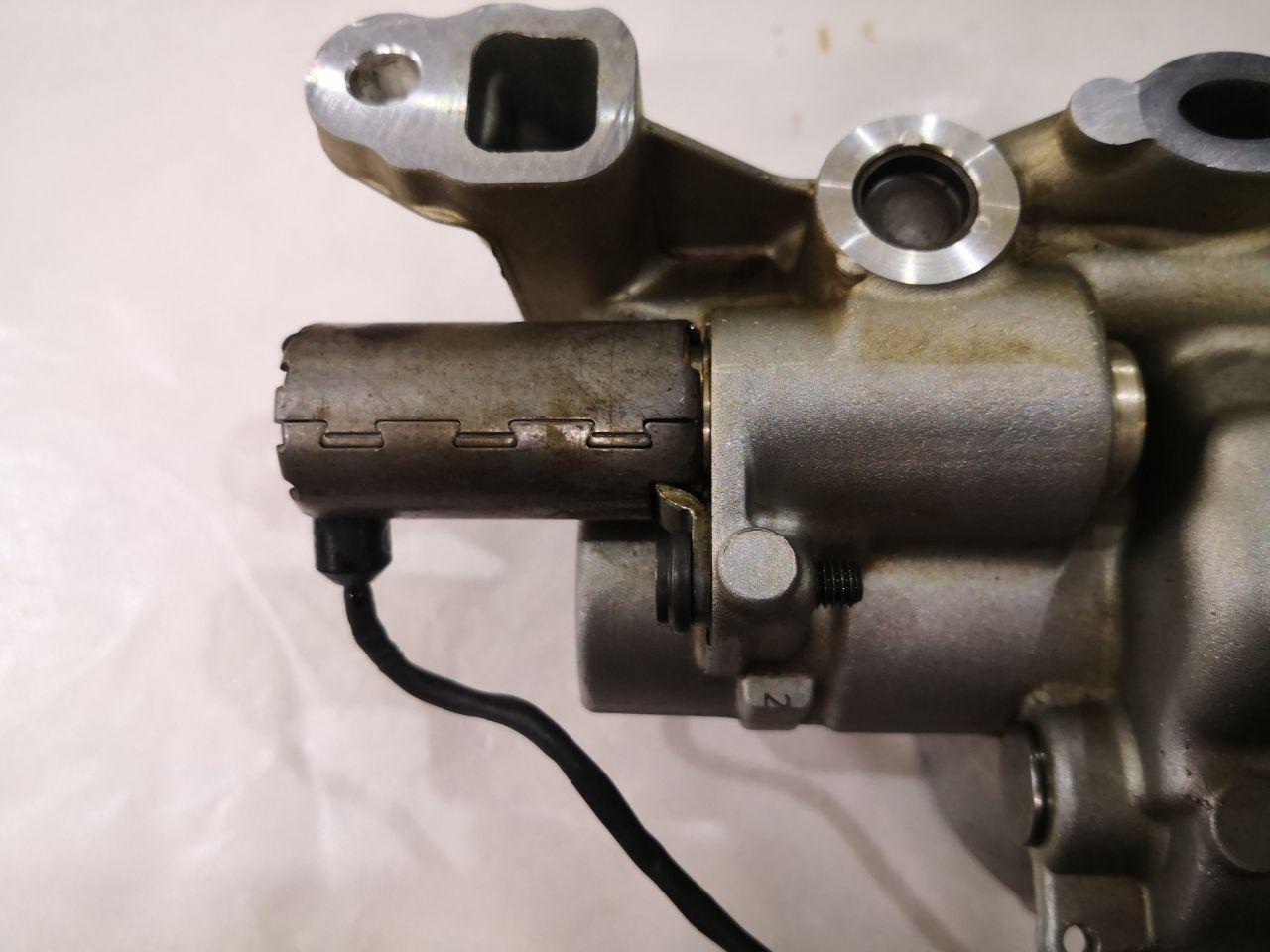 клапана регулировки давления масла, двигатель N13