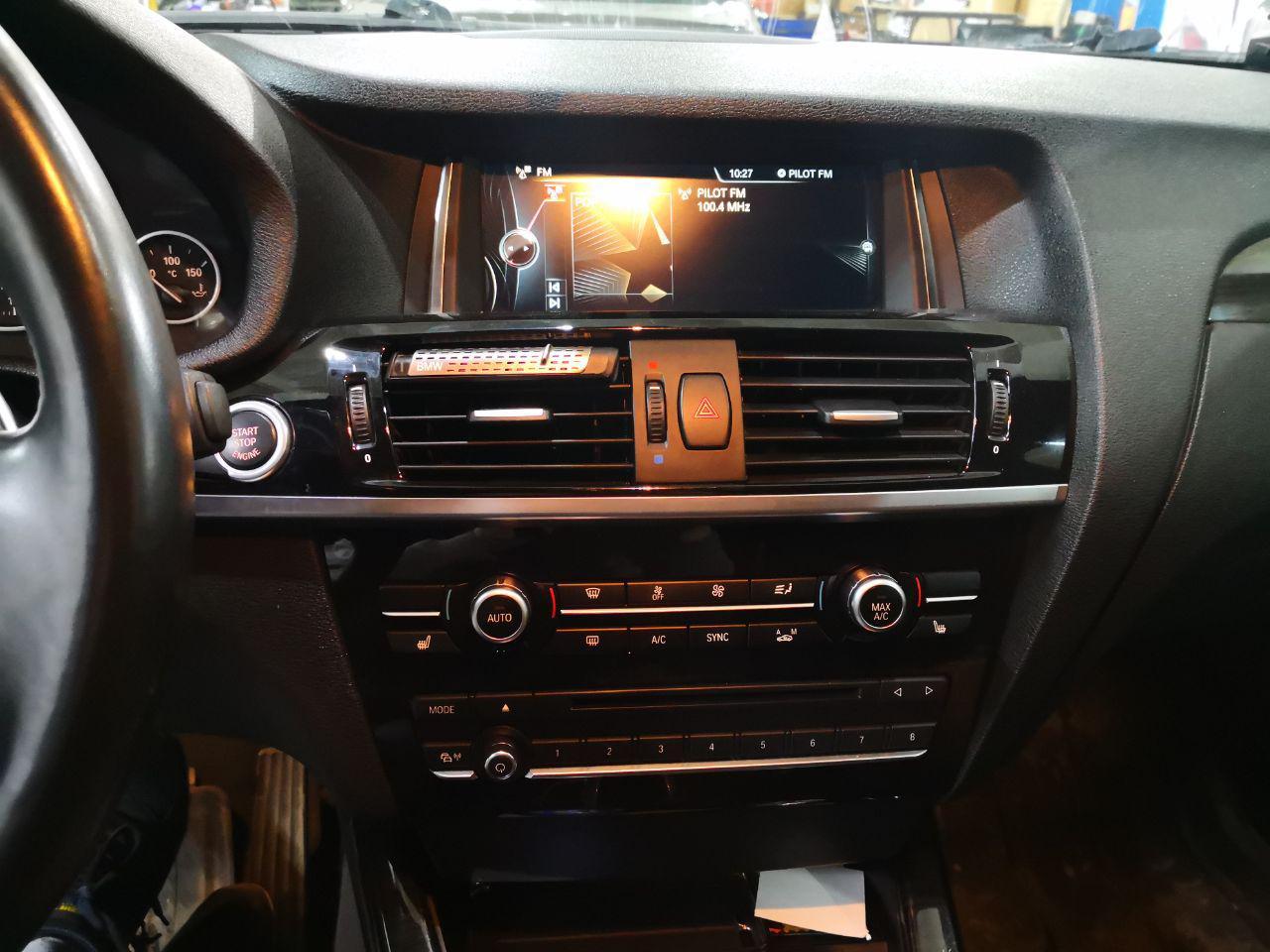 головное устройство NBT, BMW X3 F5