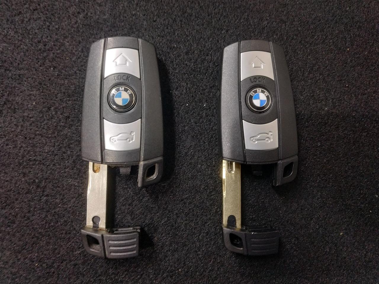 Старый и новый ключ для bmw x6