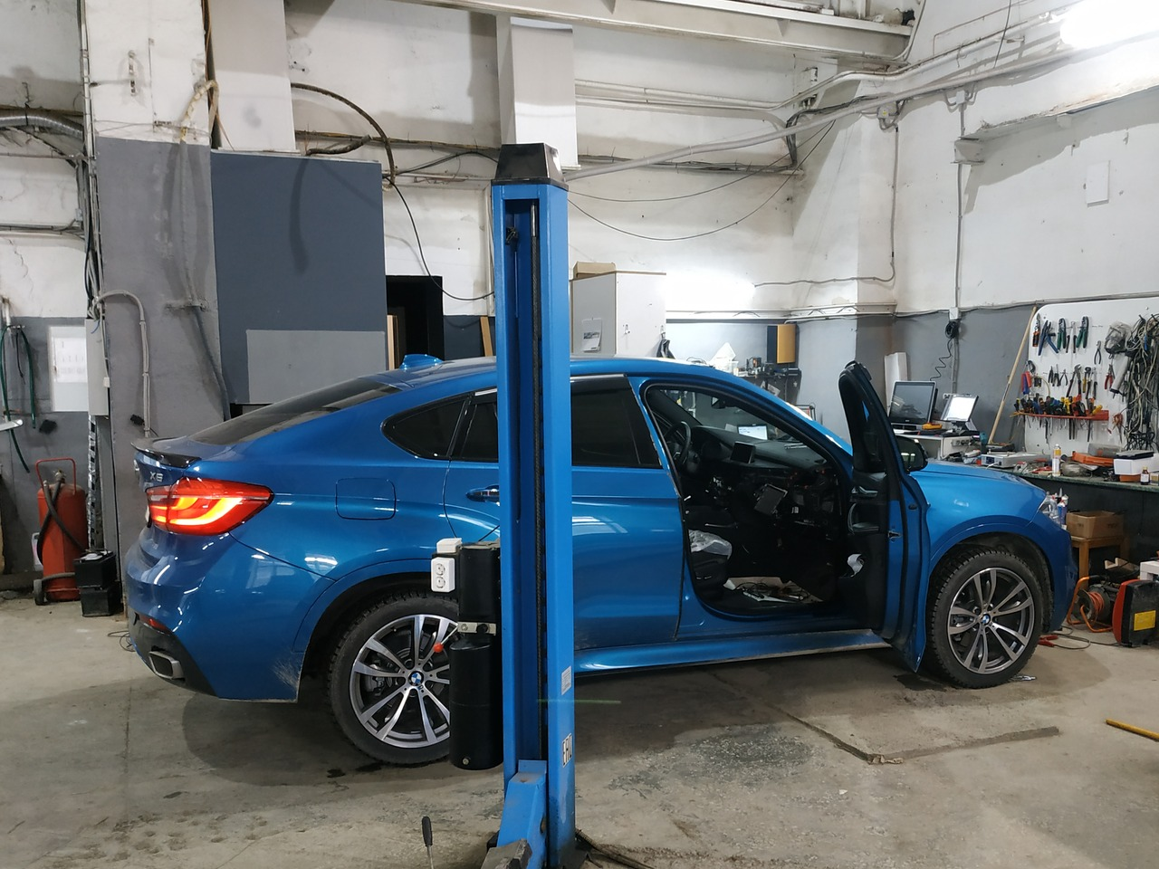 BMW X6 F16 2018 года