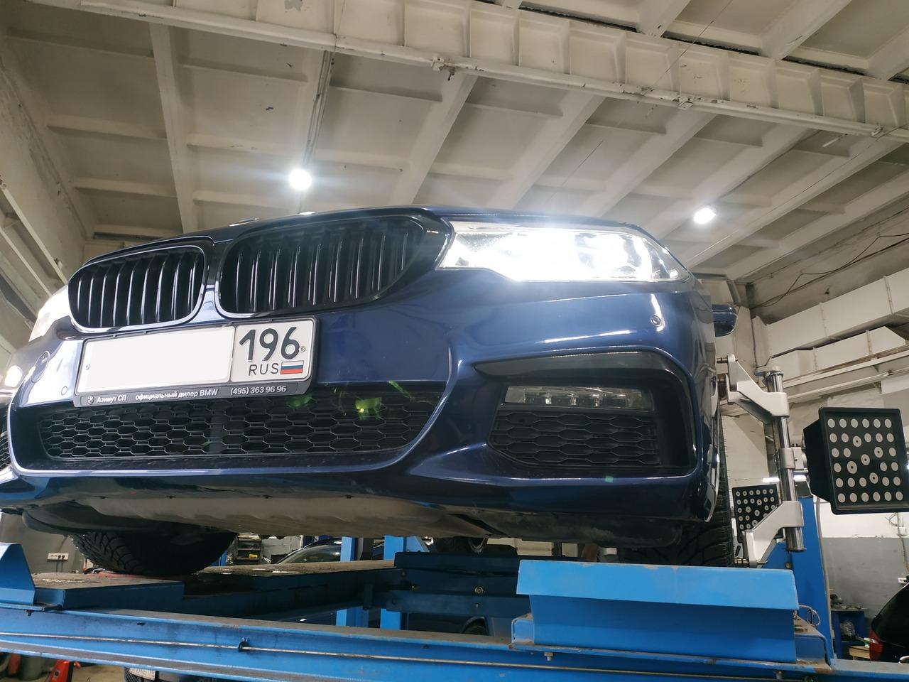 вид спереди, BMW G30