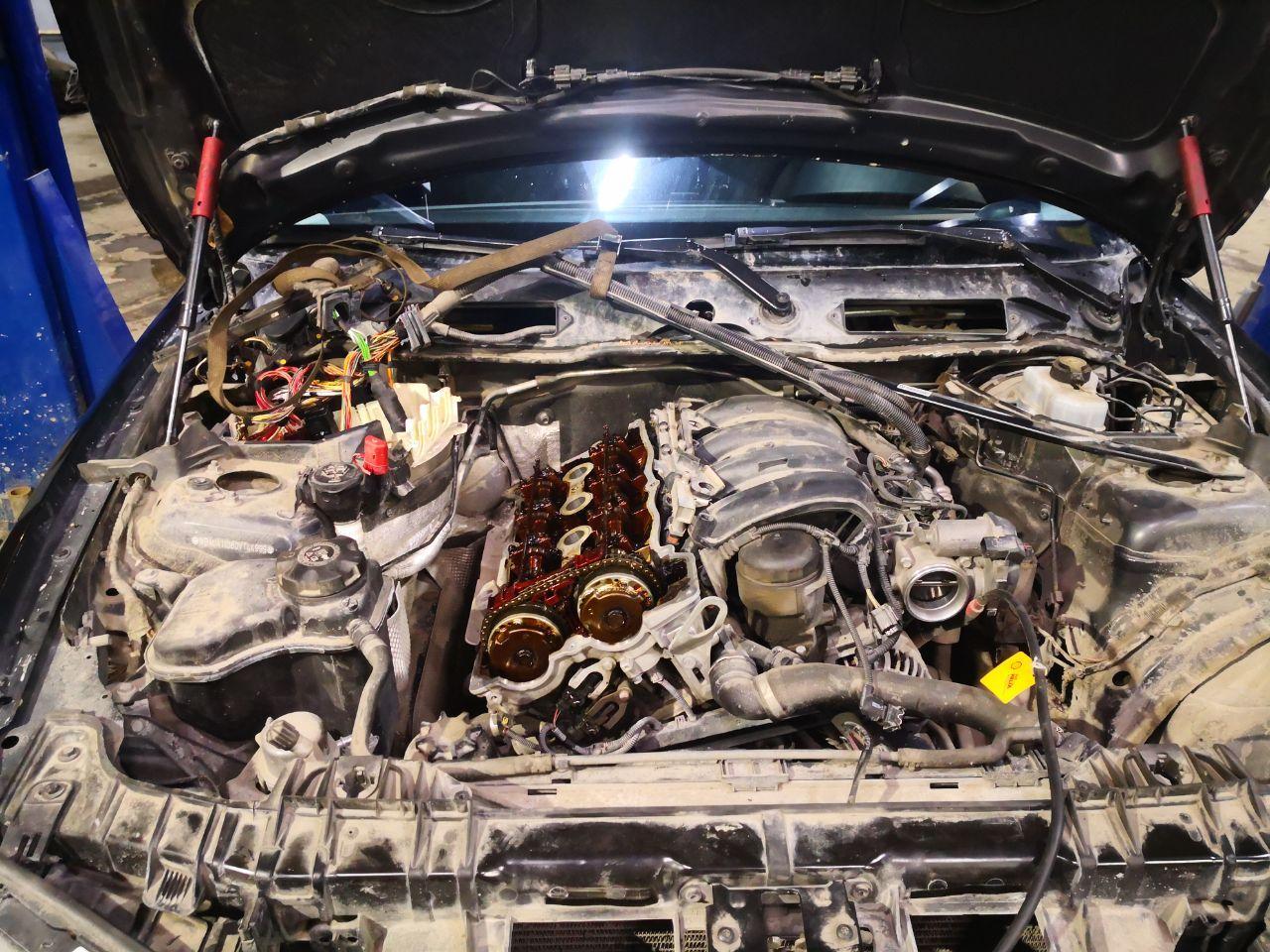 n45b16, e87, кокс в двигателе