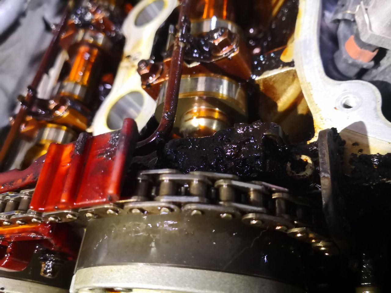 кокс в двигателе