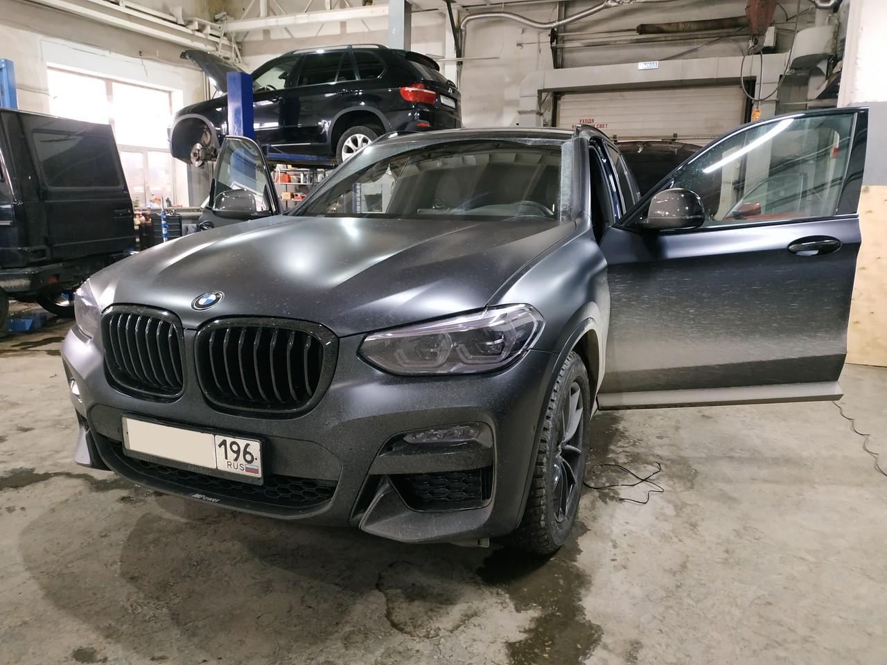 BMW X3 G01 2019 года