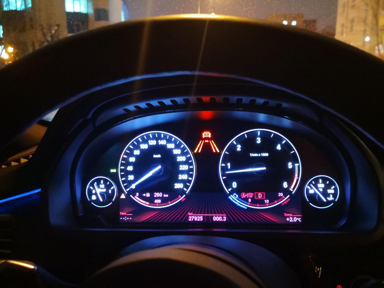 BMW X5 F15, Установка активного круиз контроля ACC
