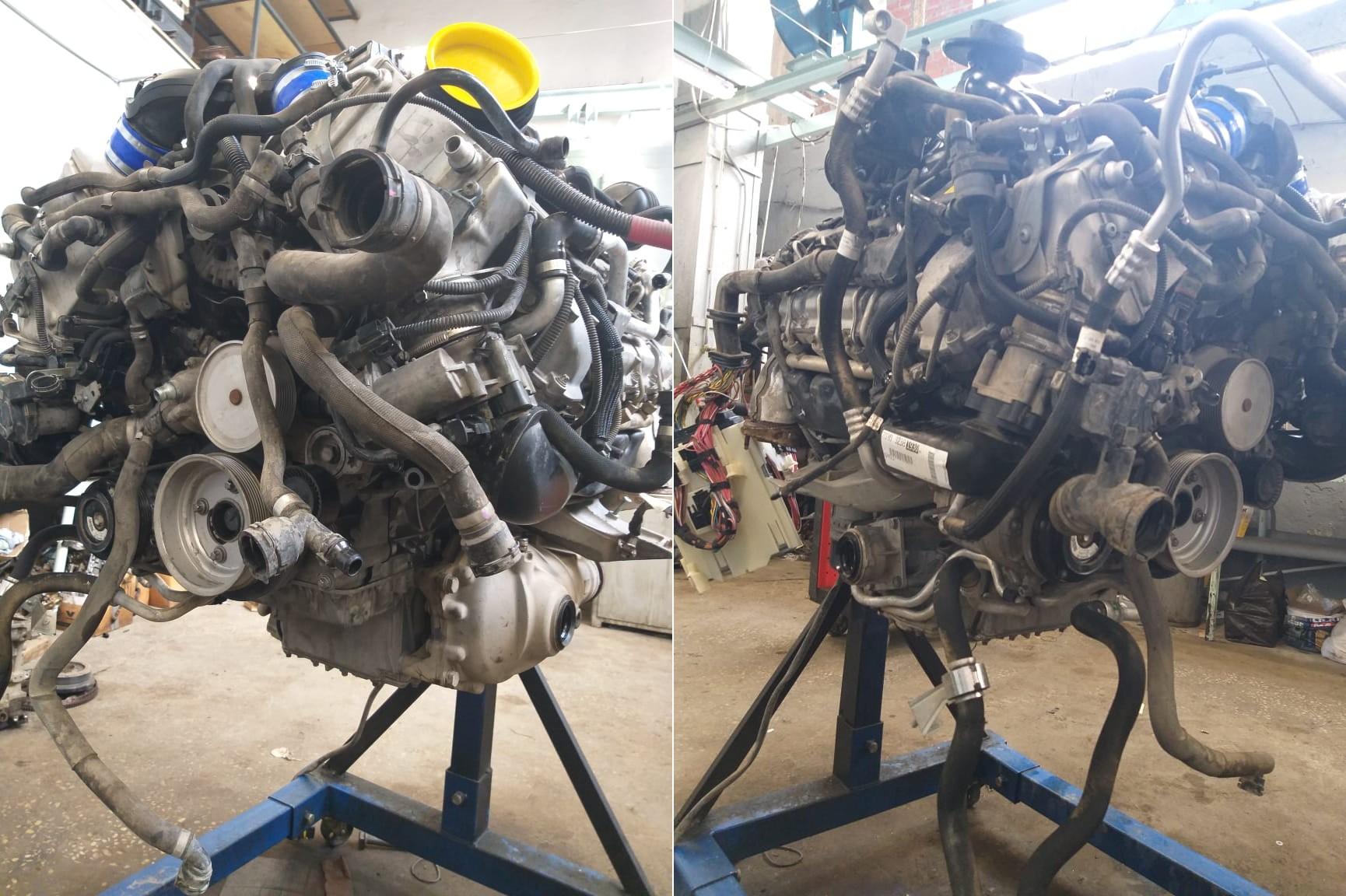 Ремонт двигателя S63