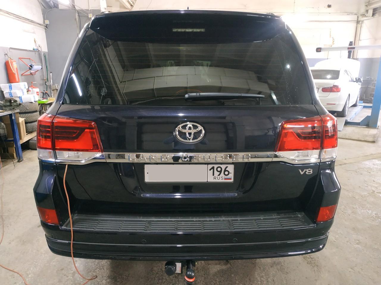 чип тюнинг Toyota Land Cruiser 200 45d