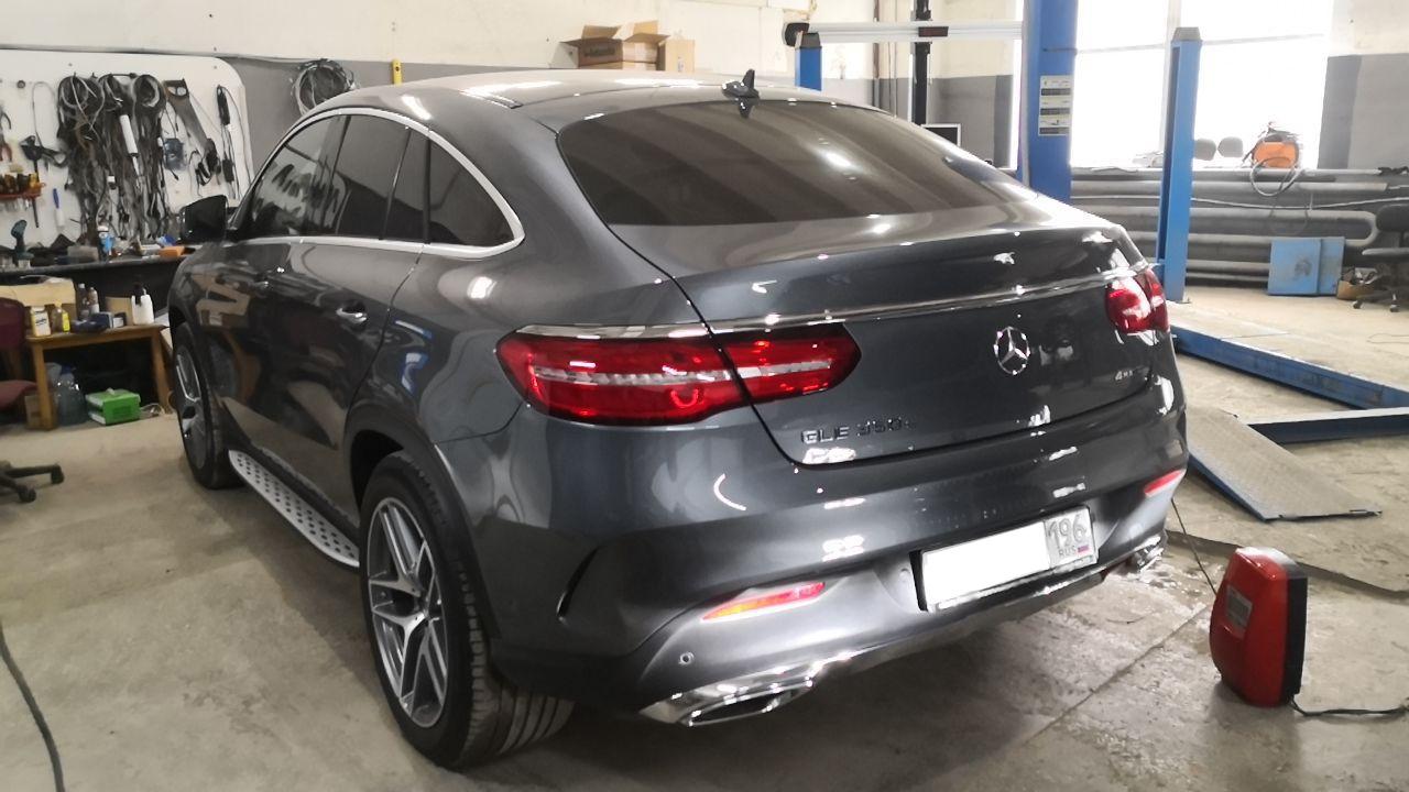 Чип тюнинг до 300 л.с., Mercedes W292
