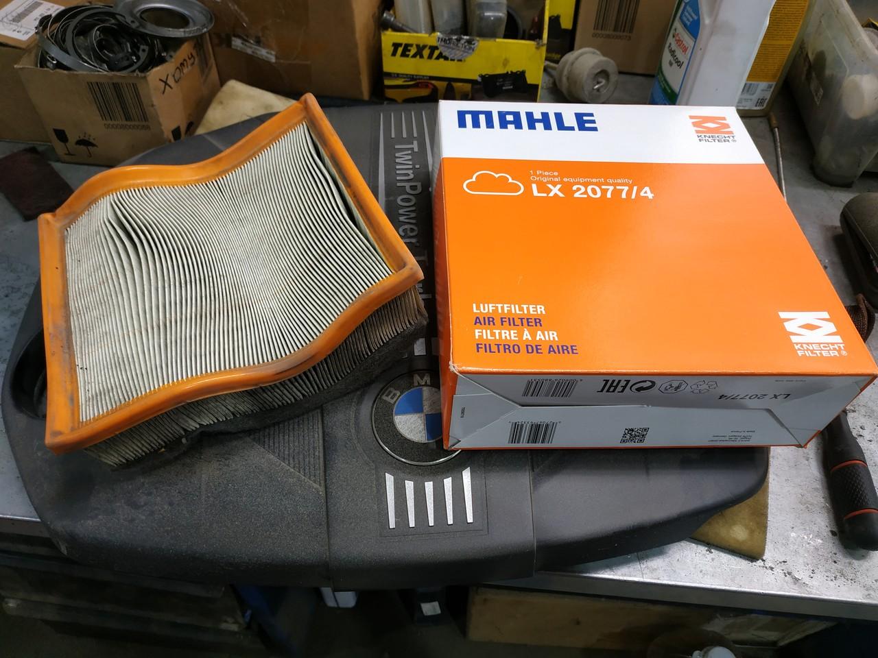 воздушный фильтр для bmw f30