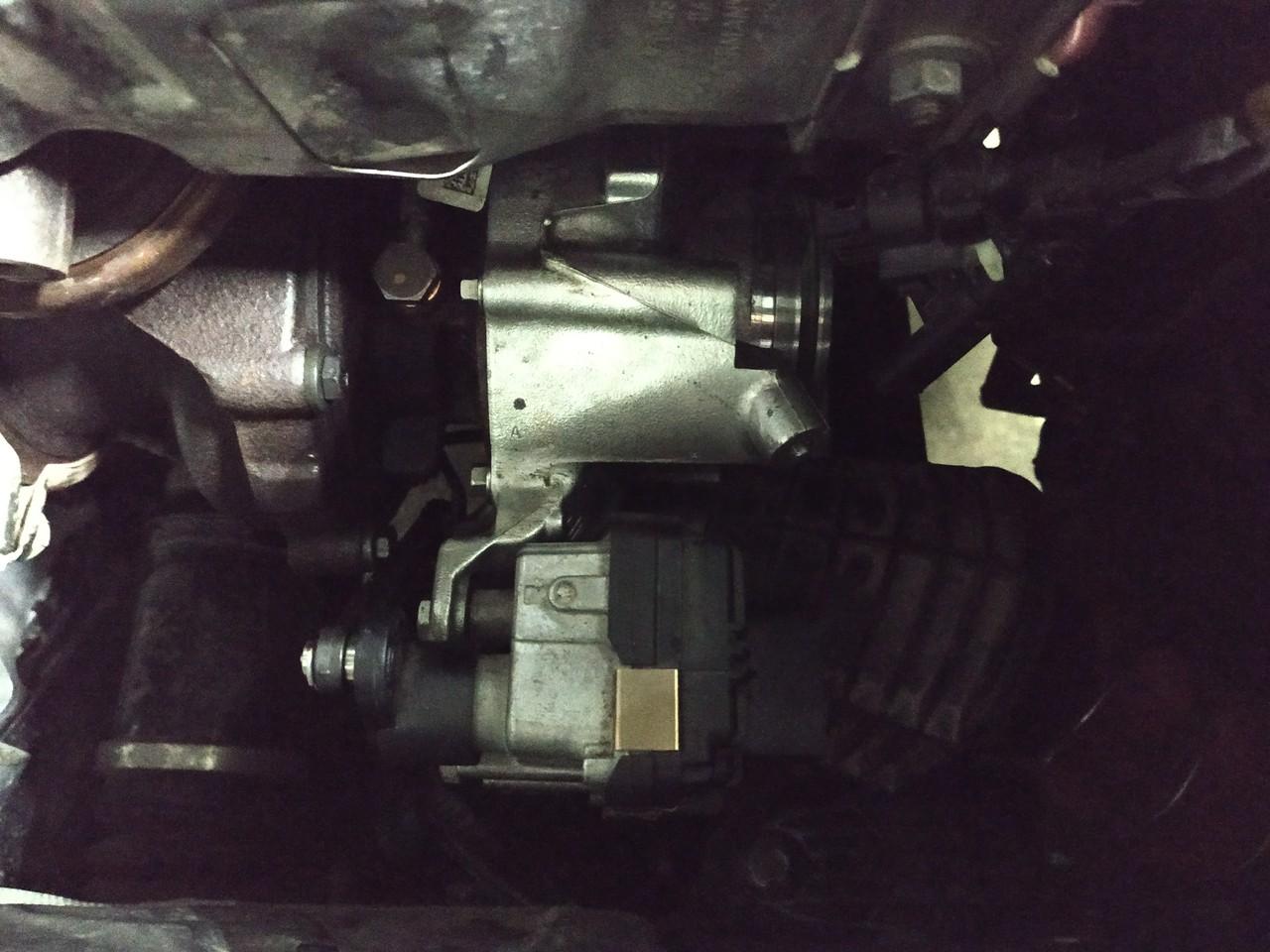 Новая турбина, двигатель B57