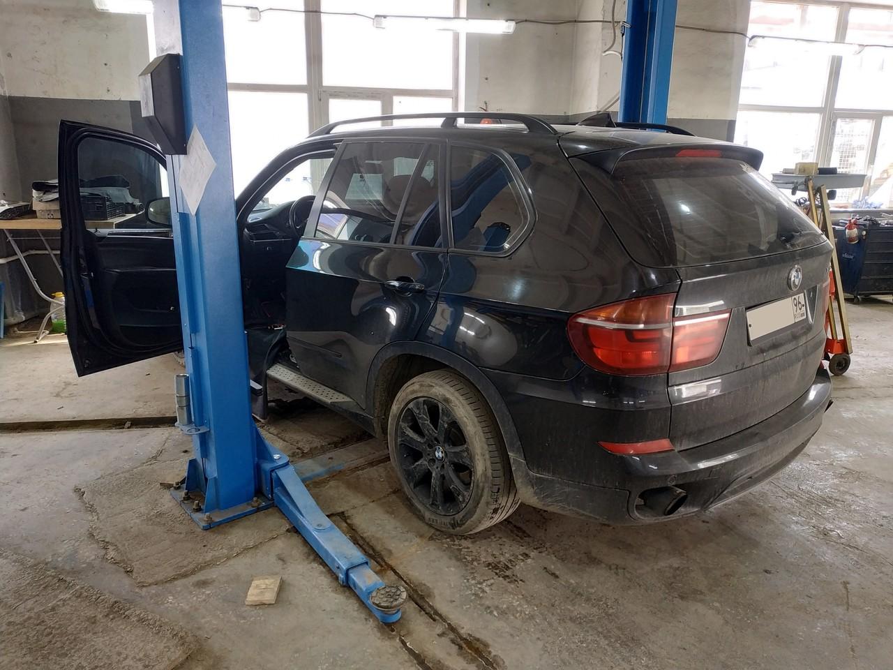 BMW X5 E70 2011, ремонт блока FRM