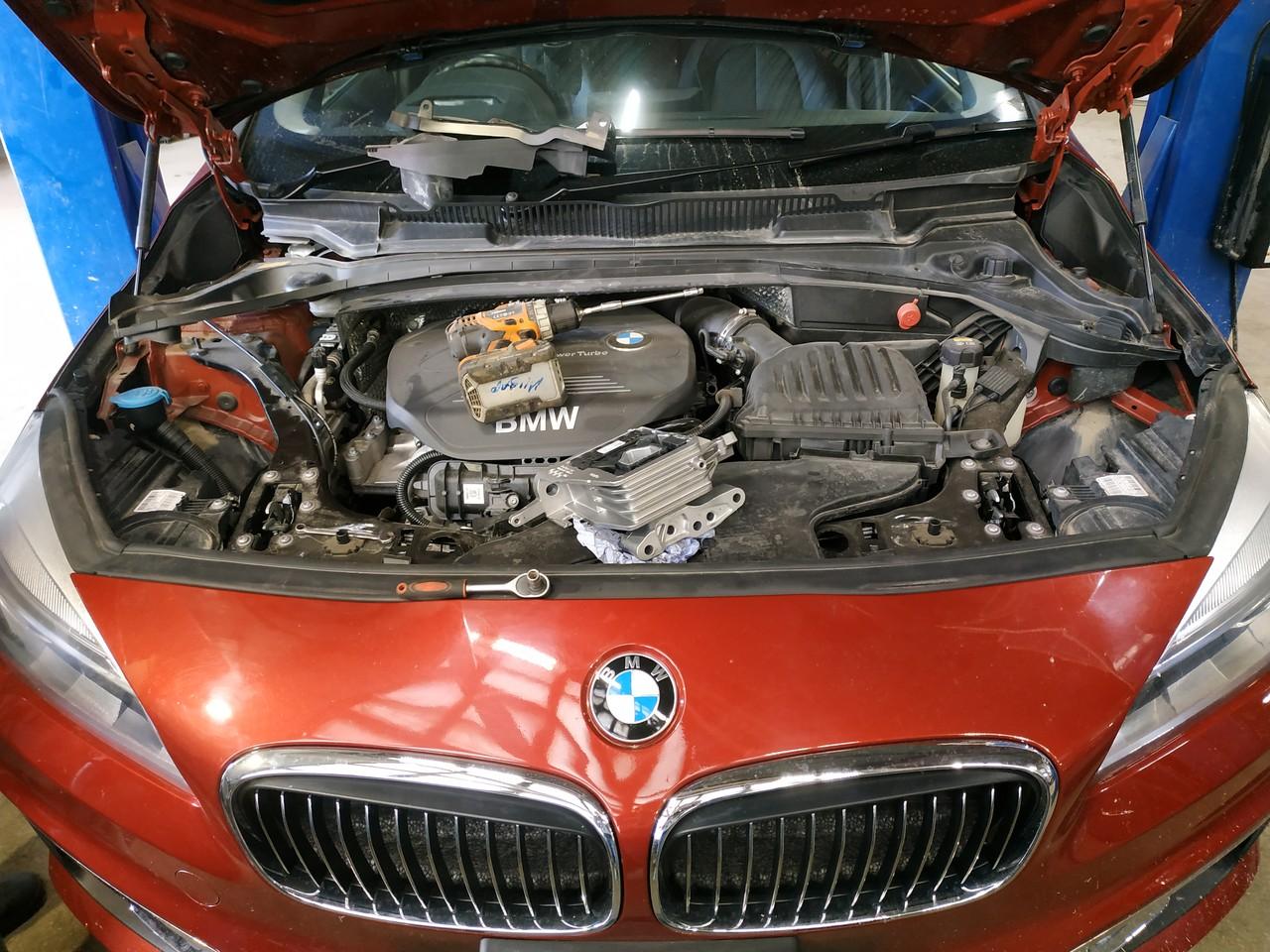 Двигатель B38, F46