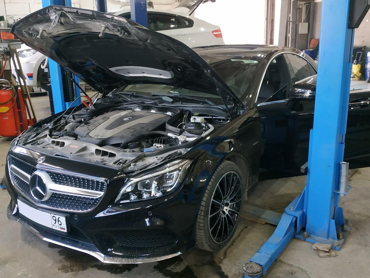 Mercedes Benz CLS W218 350 CDI