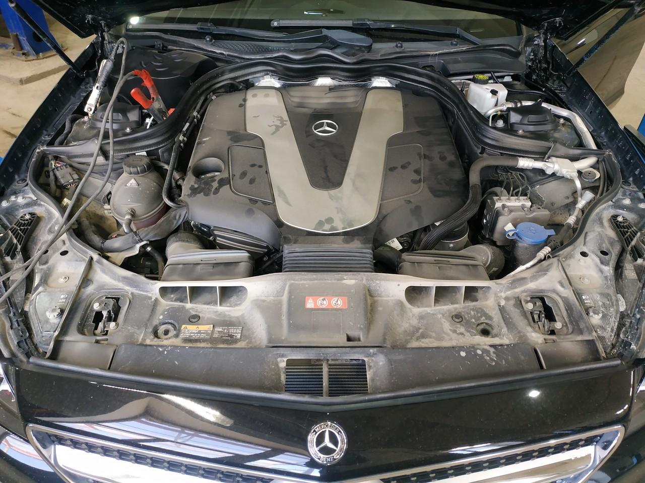Чип тюнинг Mercedes CLS W218 350, дизель