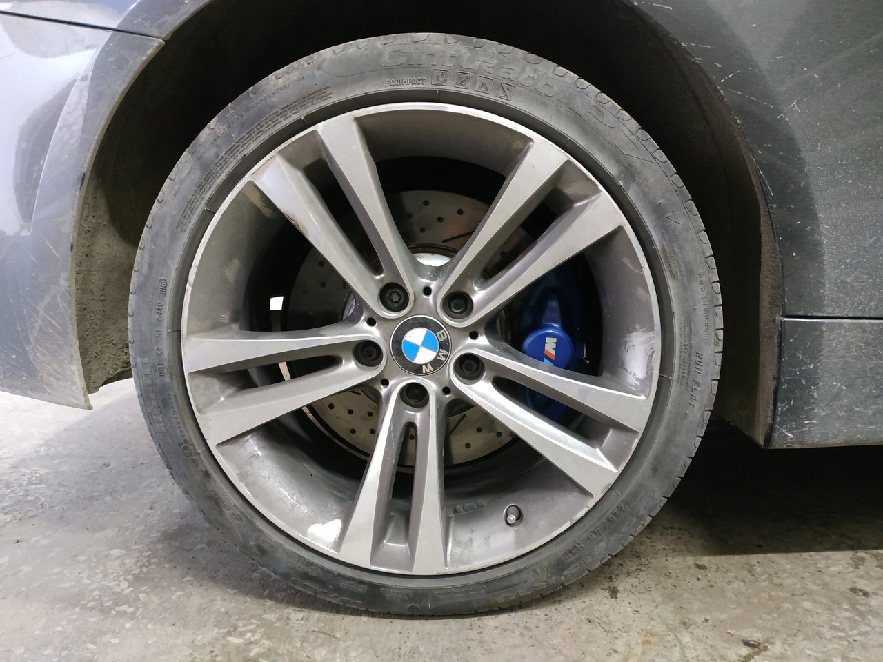 тормоза M Performance, BMW 420i