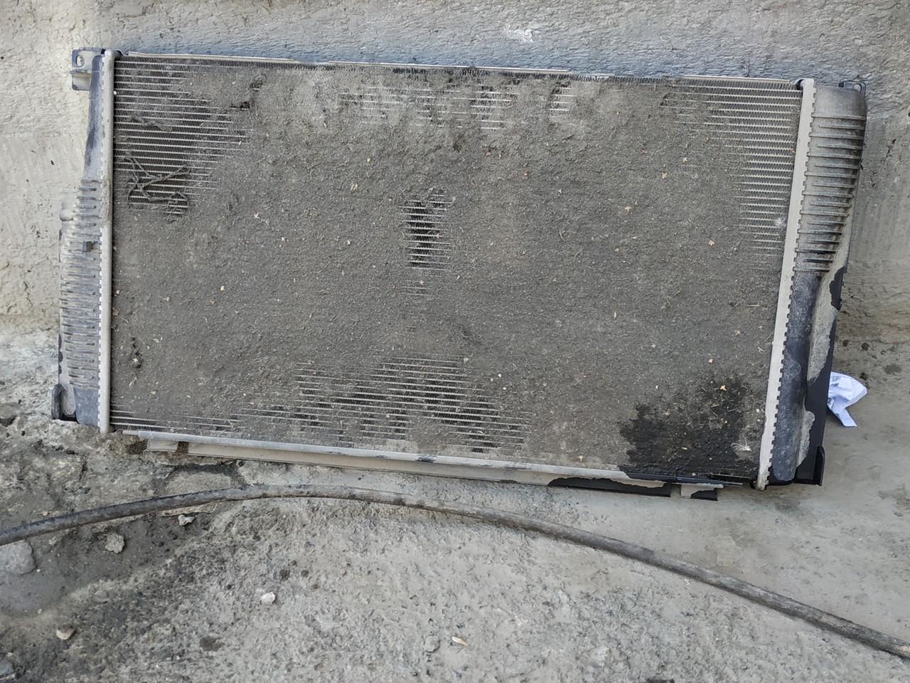 грязный радиатор f10, до мойки